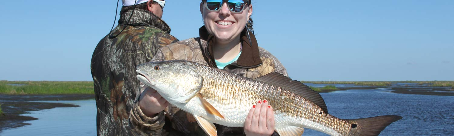 Louisiana Fishing Charters - Redfish
